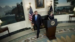 IRAN DEAL SURVIVES: President Trump Keeps Iran Nuke Deal…For Now