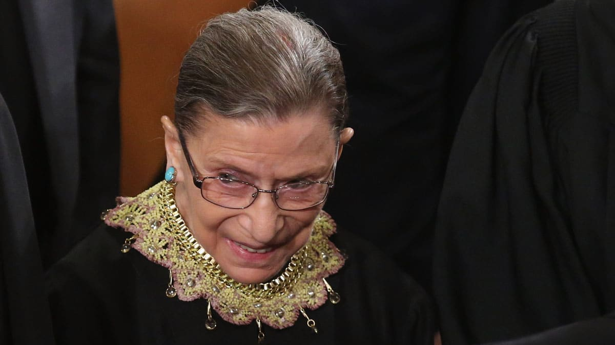 Partner Content - RBG ON THE BENCH: Ruth Bader Ginsburg Returns to Supreme Court Following Lung Surgery