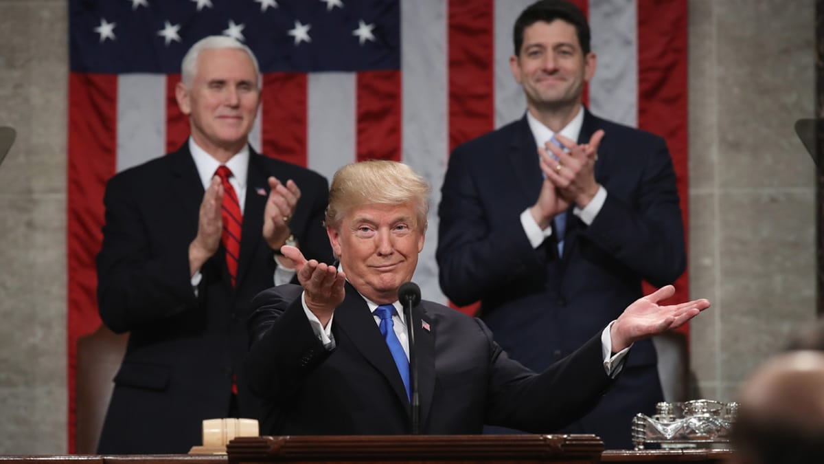 Partner Content - IT'S ON: President Trump Vows to Deliver State of the Union in Pelosi's House of Representatives