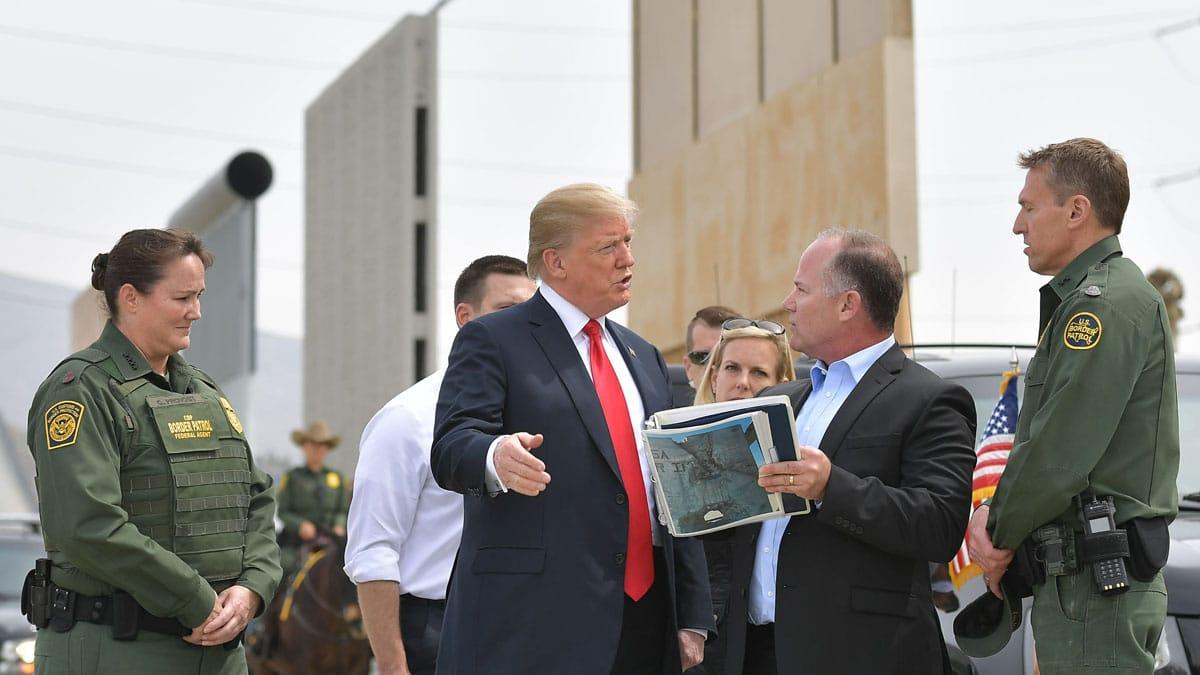 Partner Content - TRUMP: Pentagon Will 'Build the Wall' Should Democrats Block Funding