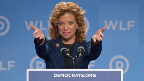 DODGY DEBBIE: Schultz Says NRA 'Just Shy of a TERRORIST Organization'