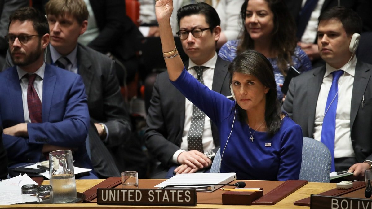 Partner Content - PARTING SHOT: Nikki Haley SLAMS the UN's Anti-Israel 'OBSESSION' During Final Appearance