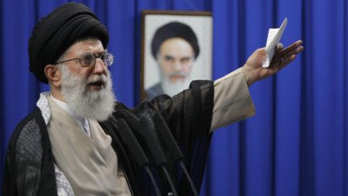 TEHRAN'S TIRADE: Iran's Supreme Leader Says 'Trump Will Be WORM FOOD'