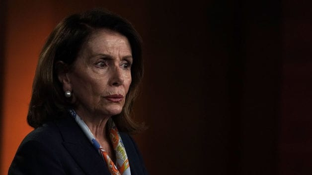 Democratic House Leader Nancy Pelosi Holds Her Weekly News Conference At The U.S. Capitol