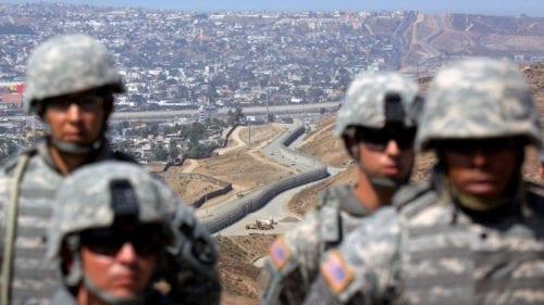 BORDER CHAOS: National Guard Helps Border Patrol ARREST 1,600 More Migrants