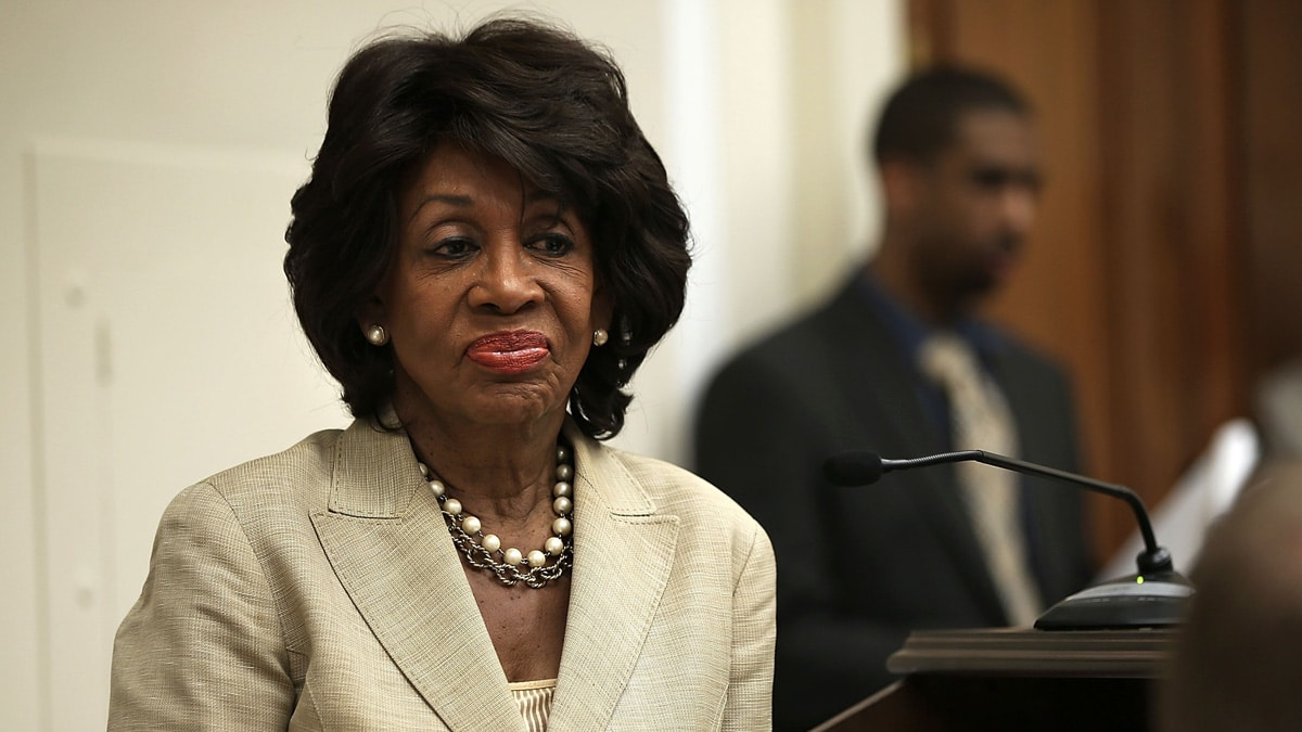 Partner Content - MAD MAXINE: Rep. Waters BLASTS Democrats for Abandoning Trump Impeachment Push