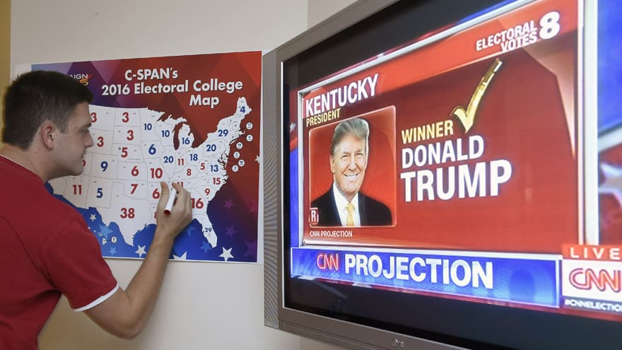 Partner Content - TRUMP: 'The Electoral College is FAR BETTER for the USA,' Protects 'Smaller States and the Midwest'