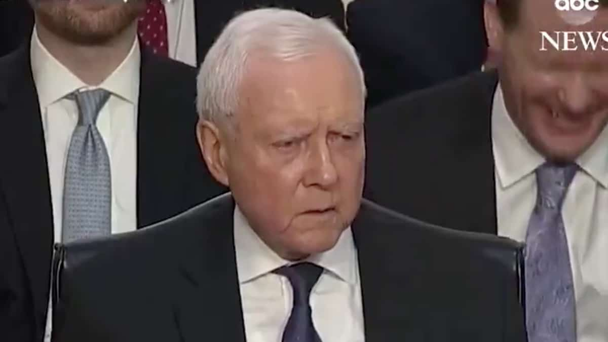 Partner Content - ORRIN UNLOADS: Sen. Hatch SLAMS Dianne Feinstein Over Court Complaints