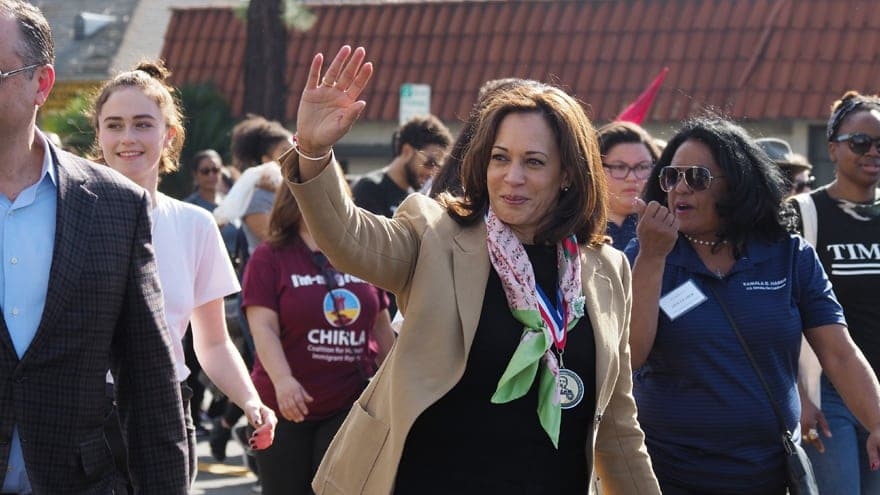 Partner Content - 2020 VISION? Kamala Harris Stumps in Iowa, Slams GOP 'Vision' for America