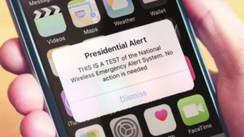 WIRELESS WARNING: FEMA to Test First 'Presidential Alert' to