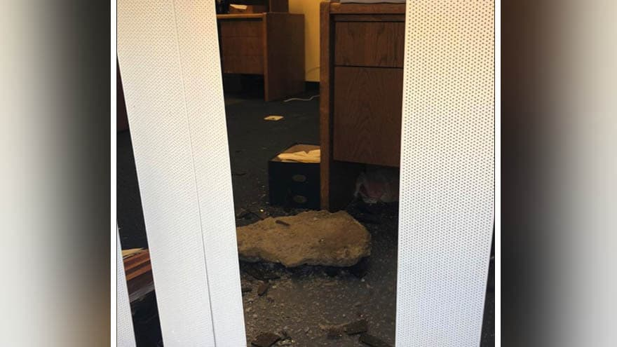 Partner Content - RAGE: Vandals Hurl 'BOULDER' Through House Majority Leader's Office Window