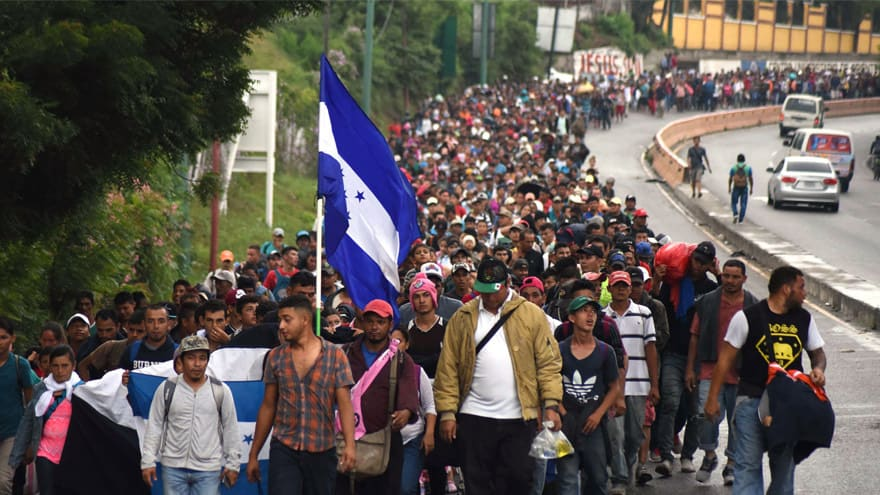 Partner Content - ON THE MOVE: 'Migrant Caravan' Ignores Trump's Warning, Heads Towards USA