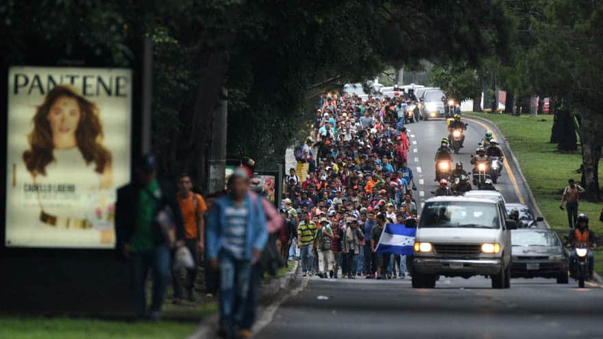 Partner Content - CARAVAN SHOWDOWN: Mexico Deploys 'Hundreds of Riot Police' as Migrants Approach Border