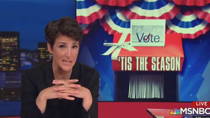 Partner Content - MADDOW MELTDOWN: MSNBC Host Compares Trump's Tweets to 1922 'KKK Pamphlet'