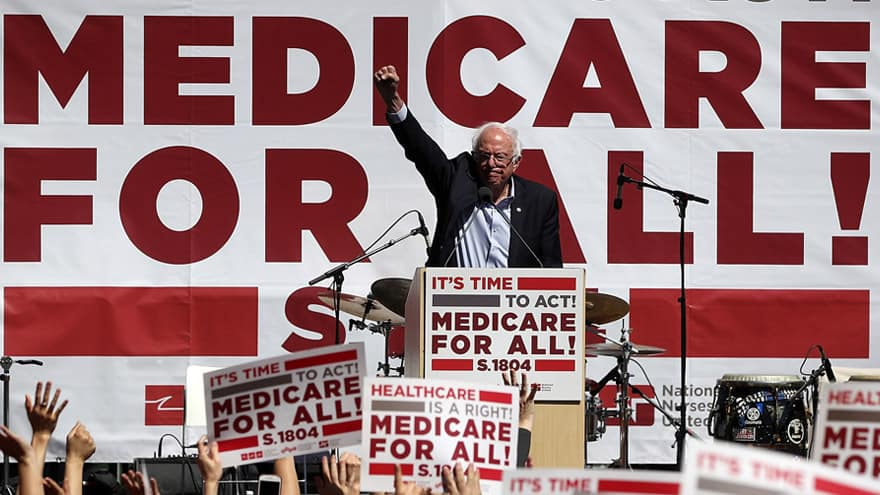 Partner Content - SOCIALISM USA! Shock Poll Finds 56% of US Public Supports 'Medicare for All'
