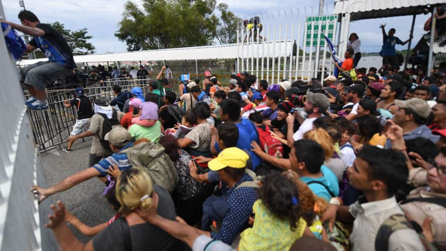Partner Content - CARAVAN CHAOS: Trump Calls Caravan 'NATIONAL EMERGENCY,' Notifies Military