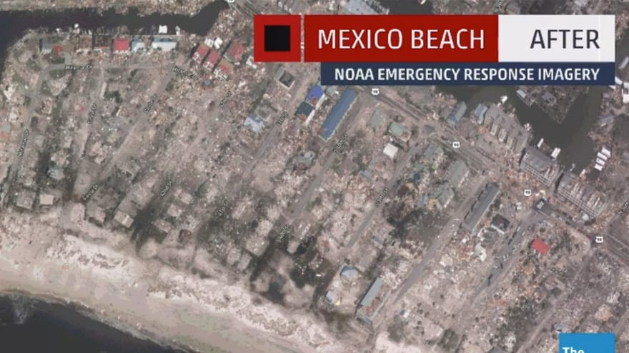 Partner Content - LIKE A NUCLEAR STRIKE: Sections of Florida Panhandle 'DESTROYED' by Hurricane Michael