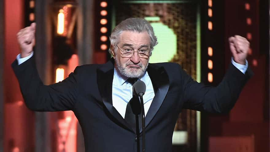 Partner Content - DE NIRO ON TRUMP: 'Down with This Motherf****r!!'