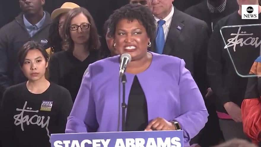 Partner Content - THE BITTER END: Stacey Abrams Acknowledges Defeat, Refuses to Concede, Says 'Democracy Failed'