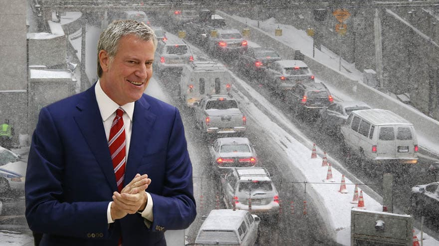 Partner Content - DE BLASIO DEFLECTS: NYC Mayor Blames Big Apple CHAOS on 'Bad Luck'
