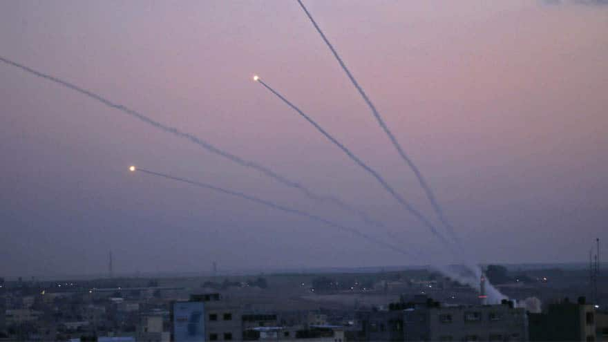 Partner Content - ISRAEL ON EDGE: Over 70 Missiles Fired from Gaza into Israel