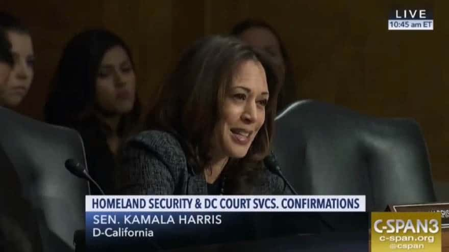 Partner Content - VICIOUS: Sen. Harris Compares ICE to the KKK During Congressional Hearing
