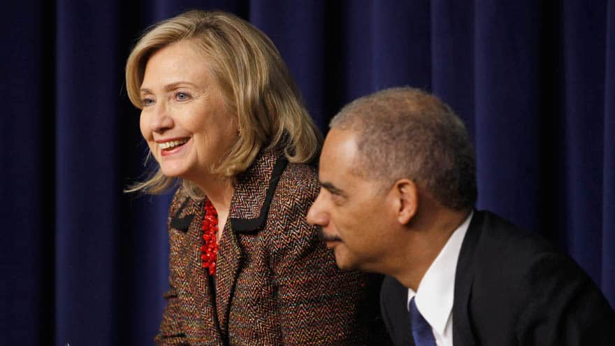 Partner Content - UNDERMINING ELECTIONS? Holder, Hillary Question Legitimacy of Georgia Governor's Race
