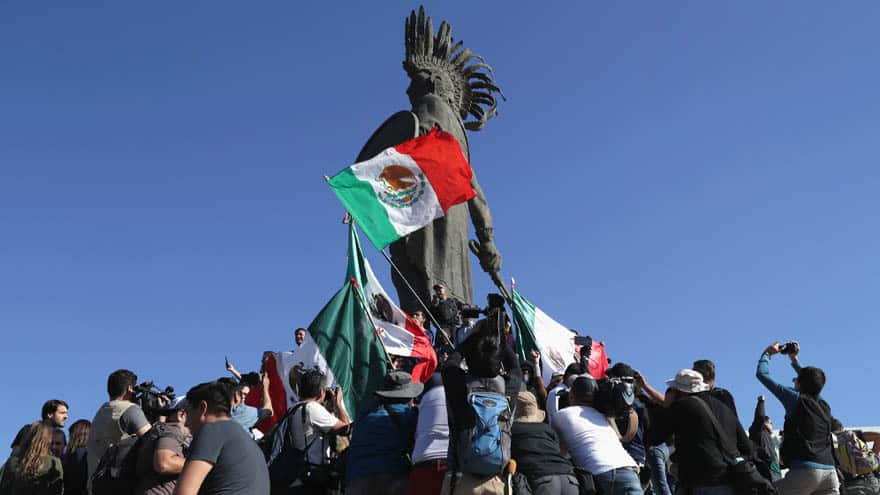 Partner Content - CARAVAN CHAOS: Mexicans PROTEST Central American Migrants as Thousands Arrive in Tijuana