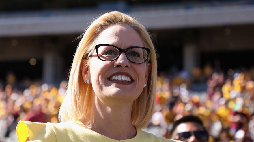 Partner Content - SINEMA SURGES: The Arizona Democrat TAKES THE LEAD Against GOP's Martha McSally