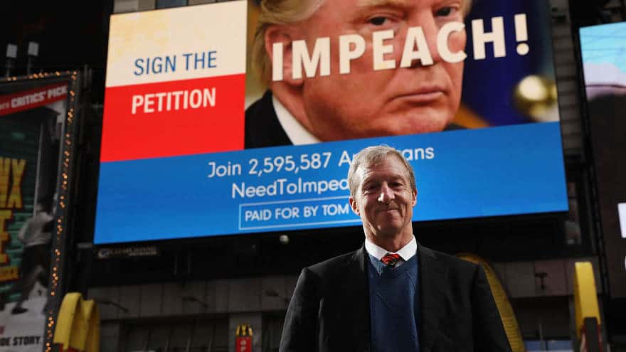 Partner Content - DERANGEMENT SYNDROME: Anti-Trump Billionaire Publishes Thanksgiving 'Impeachment Guide'