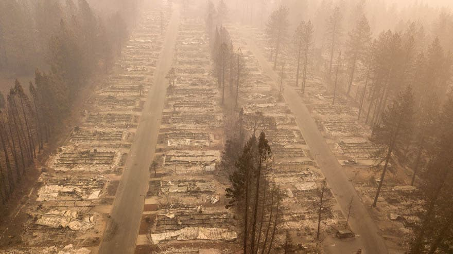 Partner Content - CALIFORNIA CATASTROPHE: At Least 66 Dead, 600+ MISSING as Wildfires Rage
