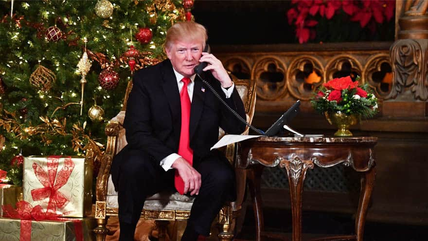 Partner Content - PARTY'S OVER: President Trump Cancels Media's White House Christmas Party