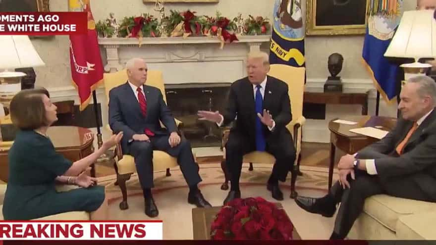 Partner Content - CANDID CAMERA: Pelosi Tells Trump He 'WILL NOT WIN' on Border Wall