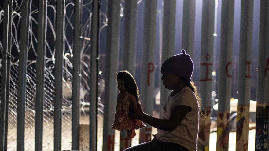 Partner Content - CARAVAN CRISIS: Two-Year-Old Found Along US-MEXICO Border Without Parents