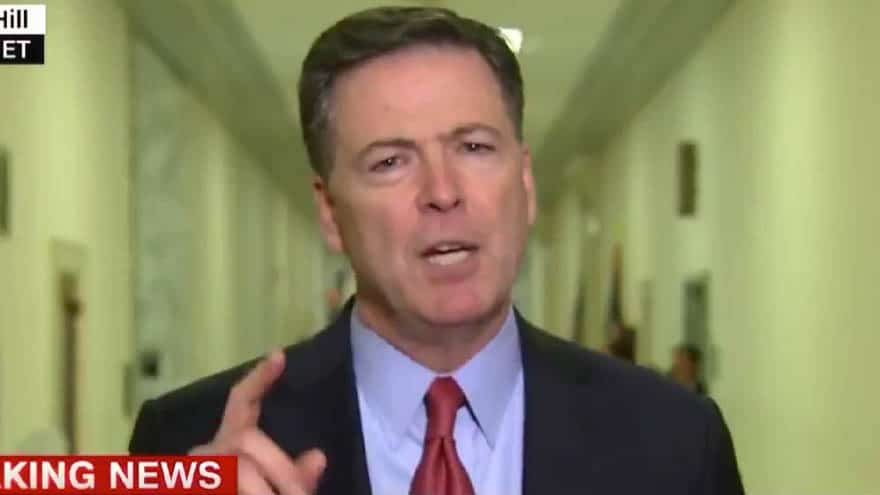 Partner Content - COMEY SPEAKS: Disgraced Former FBI Director Says Trump 'Attacking the Rule of Law' in the US