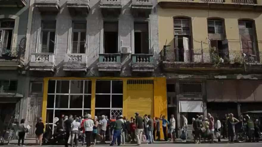 Partner Content - CUBAN CRISIS: New Video Surfaces of Cubans 'Waiting Hours' for a Single Loaf of Bread