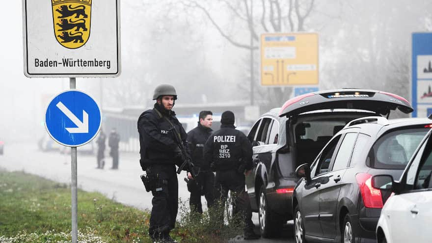 Partner Content - EUROPE MANHUNT: Strasbourg Shooter Had 27 PRIOR Convictions, May Have Escaped into Germany