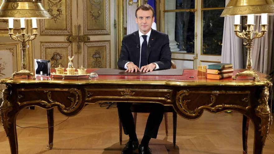 Partner Content - MACRON SPEAKS: French President Begs Businesses to Pay Employees Bonuses, Increase Wages