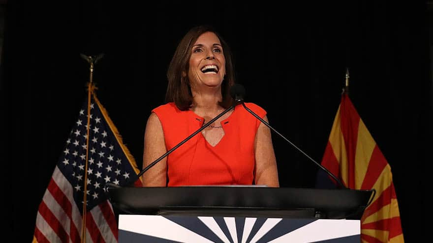 Partner Content - McSALLY TO SENATE: Arizona Gov. Appoints Martha McSally to Fill McCain's Empty Senate Seat