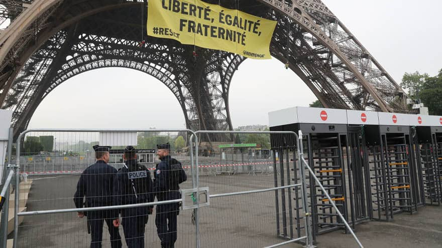 Partner Content - PARIS BRACES: France SHUTS DOWN Eiffel Tower, 89K 'Security Forces' Deployed