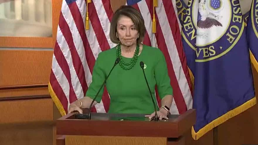 Partner Content - PELOSI DIGS IN: Nancy Refuses to Support Border Wall Funding in Exchange for DACA Solution