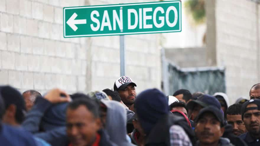 Partner Content - TAPPED OUT: San Diego Non-Profits 'Running Out of Space' for 'Migrant Caravan' Members
