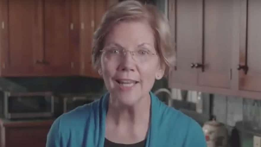 Partner Content - SOCIALISM USA! Sen. Warren Says 'Tippy Top' of Americans Should Pay 'Fair Share' in Taxes