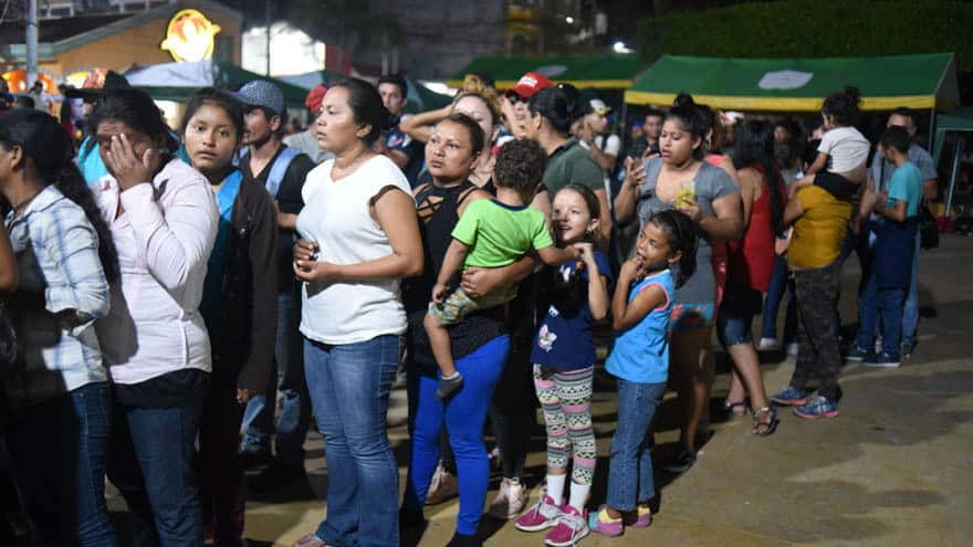 Partner Content - REPORT: Latest Caravan Crosses into Mexico 'Without Confrontation,' Authorities Open Border