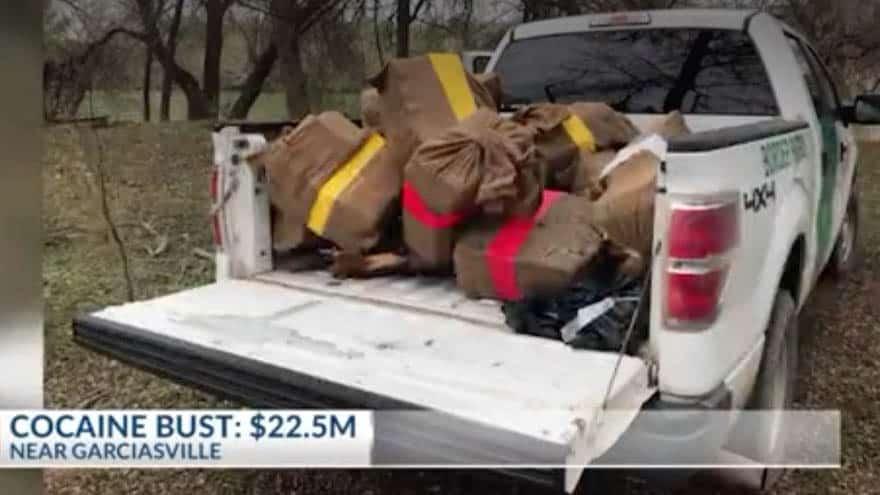 Partner Content - REPORT: Border Patrol Agents Seize 700 POUNDS, $22M of Cocaine Along US-Mexico Border