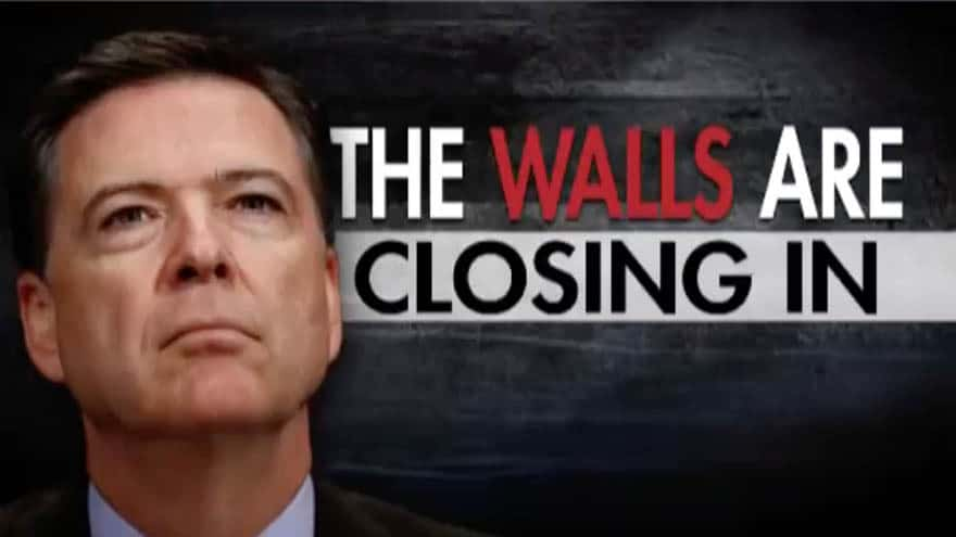 Partner Content - HANNITY: The Walls are Closing-In on 'Hateful Narcissist' James Comey