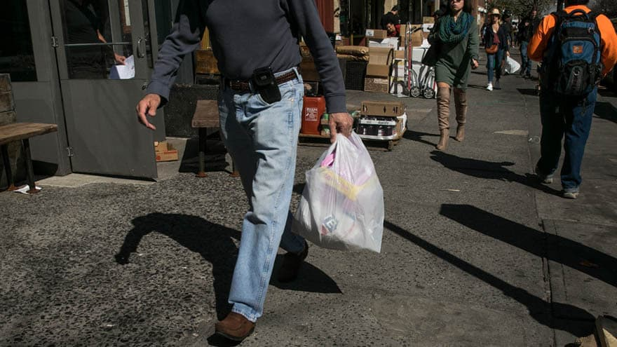 Partner Content - GOING GREEN: NY Gov. Cuomo Seeks to 'Ban Plastic Bags' from Stores, Shops Across the State