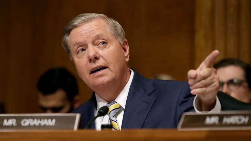 Partner Content - GRAHAM SLAM: Lindsey Graham BLASTS Bernie's Proposal to Allow Mass Shooters to Vote from Prison