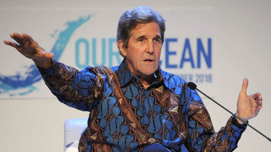 Partner Content - MR. DEEP STATE: John Kerry Says Trump Should 'Resign' at World Economic Forum