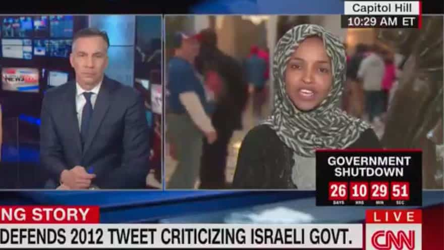 Partner Content - WATCH: Dem. Rep. DEFENDS Anti-Israel Tweet Saying Jewish State Has 'Hypnotized' the World